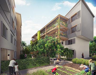 Projets de logements et bureaux dans les DOM