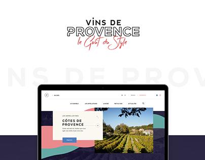 Vins de Provence - Website