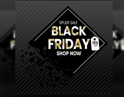 Black Friday Promotion Ad Banner Design