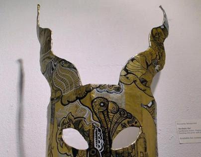 Archaic Ox Mask - Filmbase Exhibition