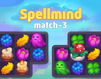 Spellmind match3 mechanics