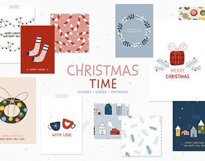 Christmas Time - Cards & Patterns