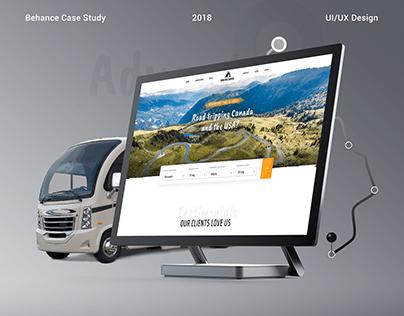 Campervan Rental (UI/UX Design)