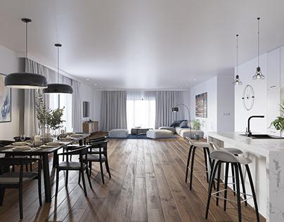 Interior 05 - Bright living room