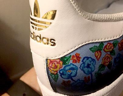 Micro Floral sneakers