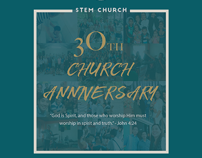 STEM 30th Church Anniversary Souvenir Brochure