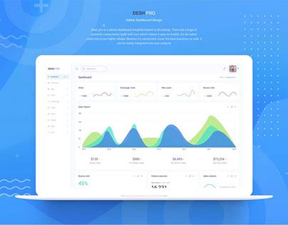 Desh pro-Admin Dashboard Design
