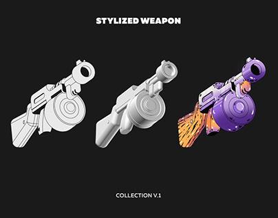 Stylized weapon (free download)