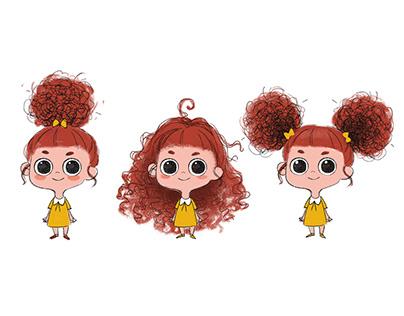 Wiggy - Character Design