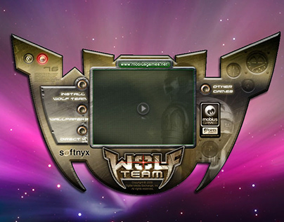User Interface + Game Launchers