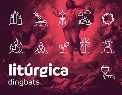Litúrgica | Free Dingbats Font