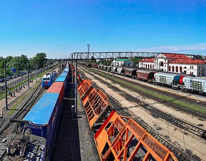 Kanash railway station