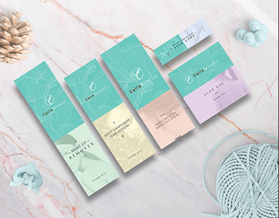 Calla Skinsoul - Brand Identity and Packgaging