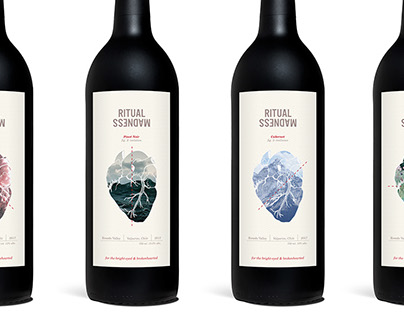 Ritual Madness Wine Labels