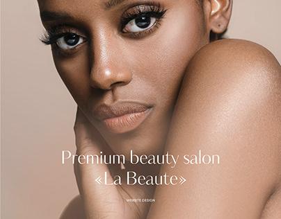La Beaute - website