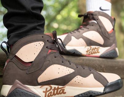 Wear Your Sneakers - The Drop AJ7 Patta