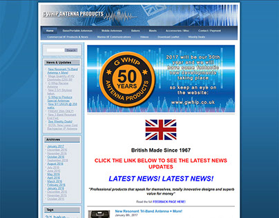 Website Design - Wordpress