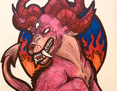 Monster Work Doodles