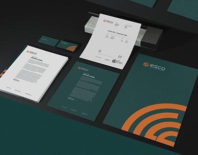 ESCO International Re branding