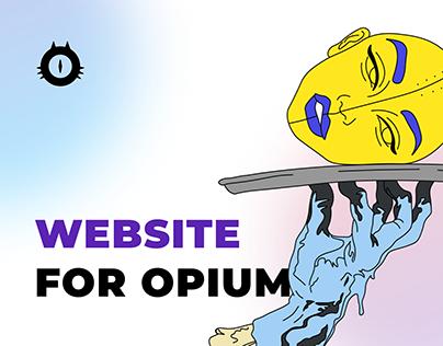 Website for OPIUM