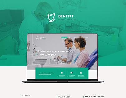 Dentist - web design
