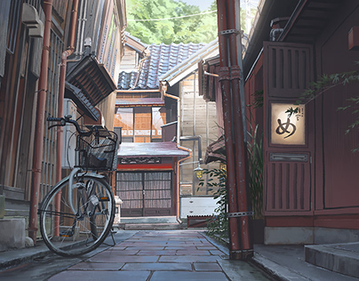 Kanazawa Old Town