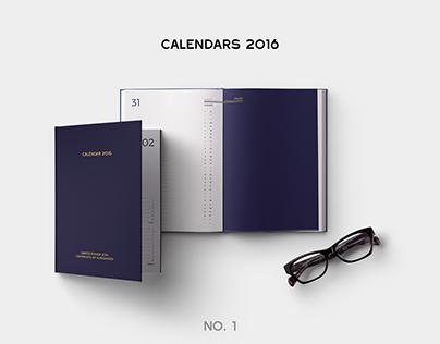 Calendars for 2016