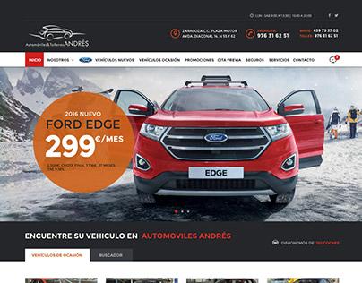 Automóviles Andrés · propuesta web