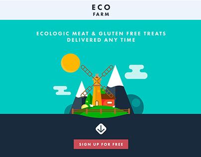 Eco Farm Homepage