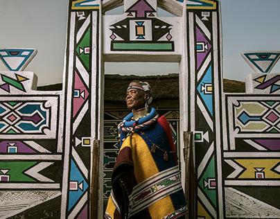 Esther Mahlangu for BMW Art Cars 2016