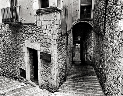 Girona Cúndaro street