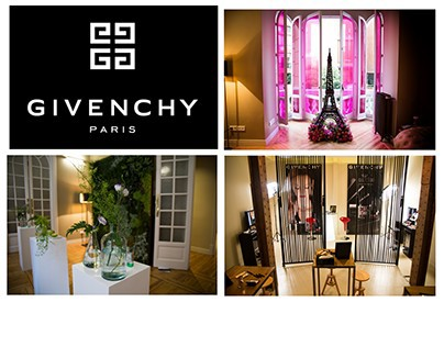 GIVENCHY EVENT DECOR. 3 ROOMS, 3 WORLDS.