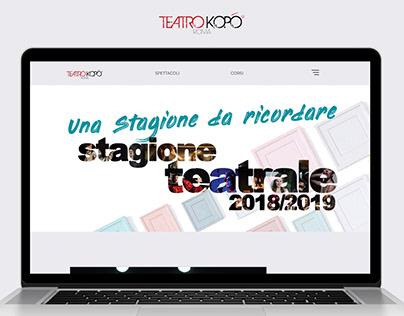 Teatro Kopò   Web Development & Design