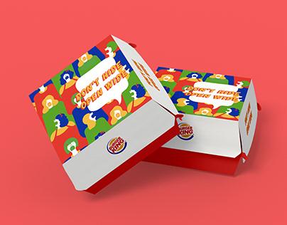 Burger King - Ad Campaign Design