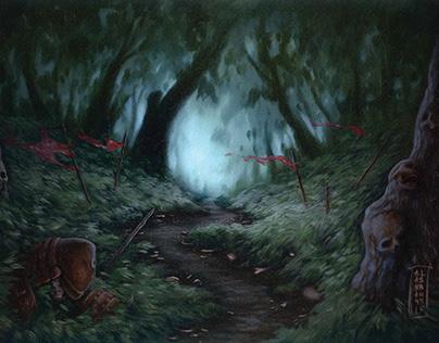 Overgrown Woods