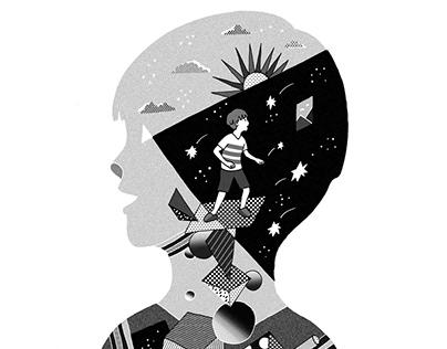 2016 Book Illustrations書籍插畫配圖:閱讀《弟子規》從生活中認識經典的智慧