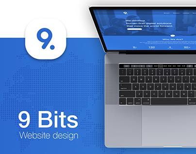 9 Bits - website design