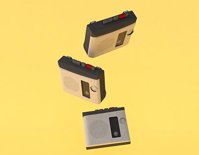 Walkman Motion Graphic