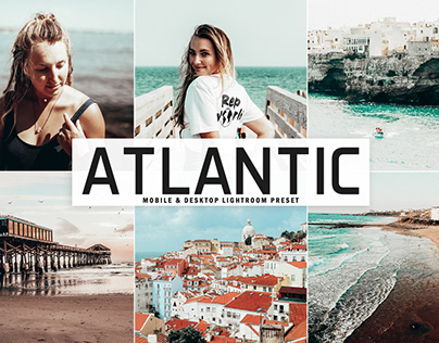 Free Atlantic Mobile & Desktop Lightroom Preset