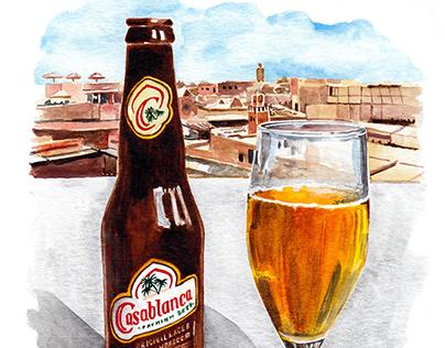 Illustrations - Monocle Travel Guide Marrakech