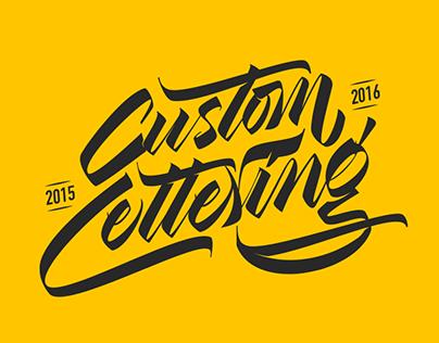 Custom Lettering 15/16