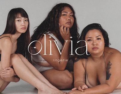 Olivia - Logo Design for a Lingerie Brand