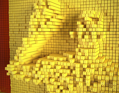 Interactive Mirror of Bricks   One Show 2016 MERIT