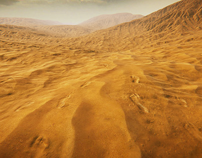 stylize desert on unity