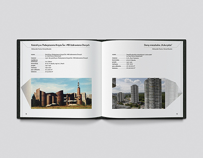 Redesign of modern architecture publication