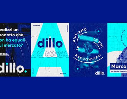 dillo. | Brand identity
