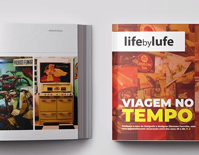Life by Lufe - Projeto Gráfico