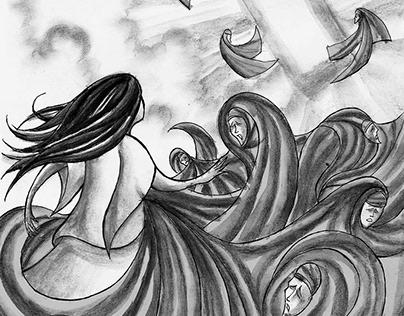 A Revelação (The Revelation) book illustrations