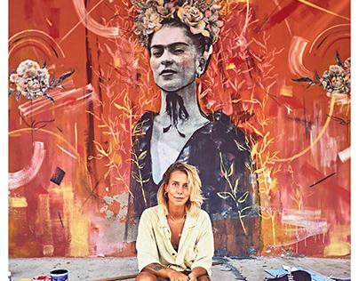 MURAL | Frida Kahlo, Mexico