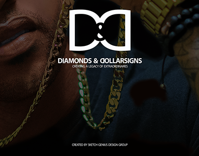 Logo Design Diamonds & Dollarsigns Brand